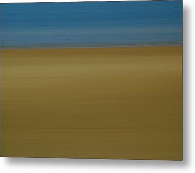 Abstract Seascape 2 Metal Print by Juergen Roth