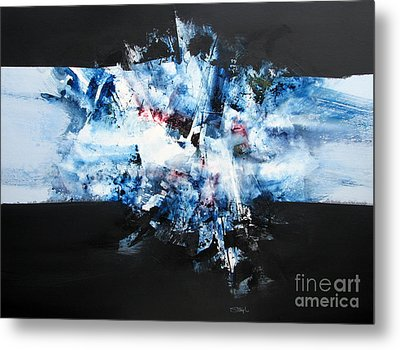 Abstract Series #103 Metal Print by Jerry Stangl