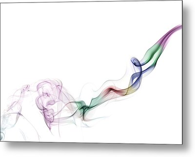 Abstract Smoke Metal Print by Setsiri Silapasuwanchai