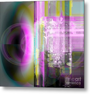 Abstract The Moment Metal Print
