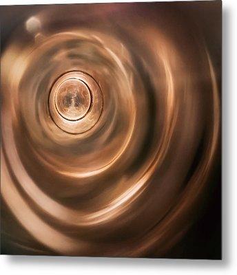 Abstract Tones Metal Print by Scott Norris