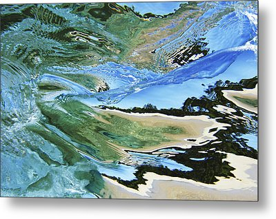 Abstract Underwater 4 Metal Print by Vince Cavataio - Printscapes