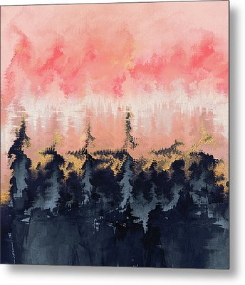 Abstract Wilderness Metal Print by Elisabeth Fredriksson
