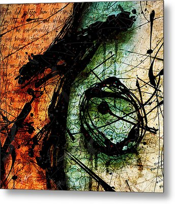 Abstracta_07 Sacrifice Metal Print