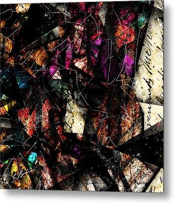 Abstracta_16 Tapestry Metal Print