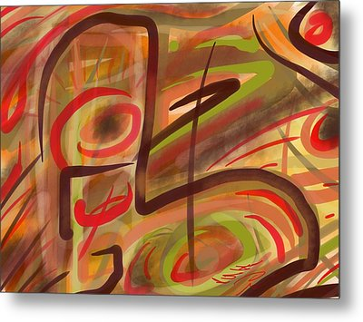 Abstraction Collect 2 Metal Print