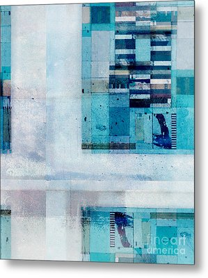 Metal Print featuring the digital art Abstractitude - C02v by Variance Collections