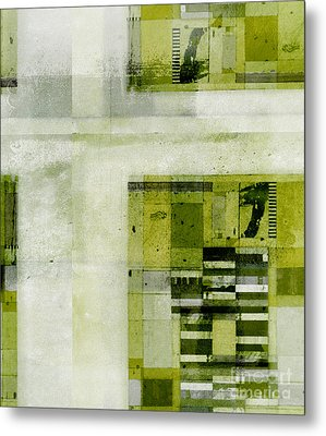 Metal Print featuring the digital art Abstractitude - C4bv2 by Variance Collections