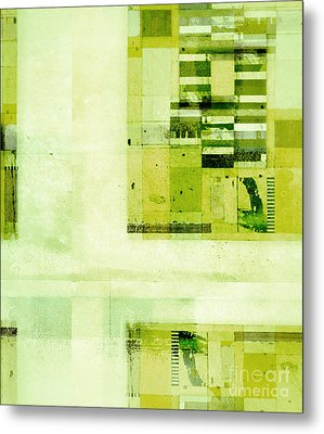 Metal Print featuring the digital art Abstractitude - C4v by Variance Collections