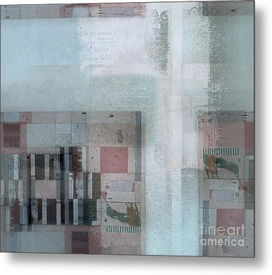 Metal Print featuring the digital art Abstractitude - C7 by Variance Collections