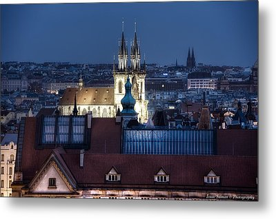 Academy Of Arts, Architecture And Design  Prague Metal Print by Isaac Silman