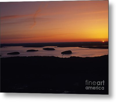 Acadia National Park - Maine Usa Metal Print by Erin Paul Donovan