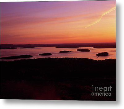 Acadia National Park Maine - Frenchman Bay Metal Print by Erin Paul Donovan