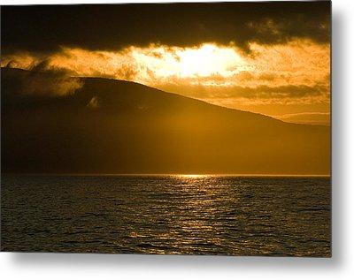 Acadia National Park Sunset Metal Print