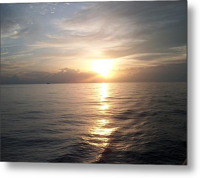 Acapulco Sunset Metal Print by Janet  Hall