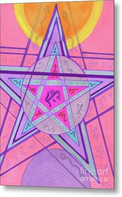 Ace Of Solomon Metal Print