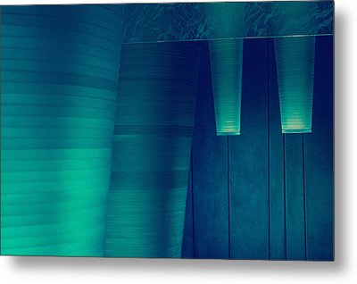 Metal Print featuring the photograph Acoustic Wall by Bobby Villapando