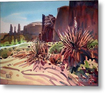 Across Monument Valley Metal Print