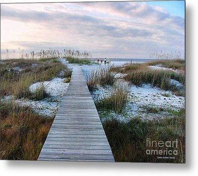 Across The Dunes Metal Print