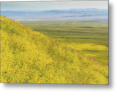 Metal Print featuring the photograph Across The Plain by Marc Crumpler