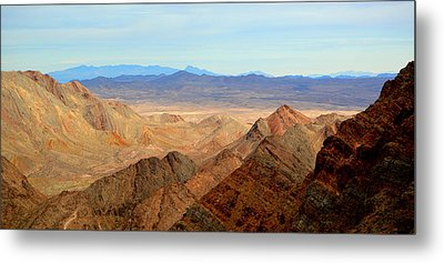 Across The Range Metal Print