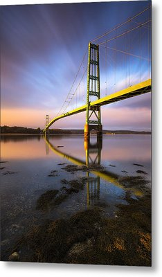 Metal Print featuring the photograph Across The Reach by Patrick Downey