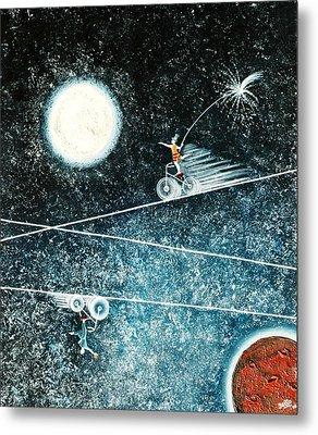 Across The Universe Metal Print by Graciela Bello
