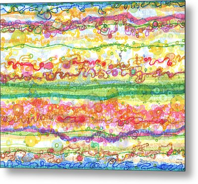 Across The Universe Metal Print by Regina Valluzzi