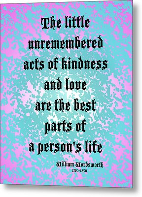 Acts Of Love Metal Print