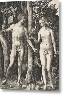 Adam And Eve, 1504  Metal Print