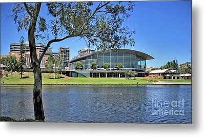 Adelaide Convention Centre Metal Print