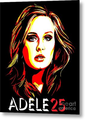 Adele 25-1 Metal Print