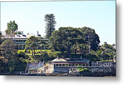 Metal Print featuring the photograph Admiralty House by Stephen Mitchell