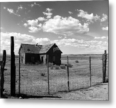 Adobe Homestead Metal Print