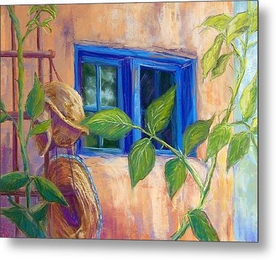Adobe Windows Metal Print by Candy Mayer
