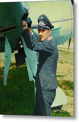 Adolf Metal Print