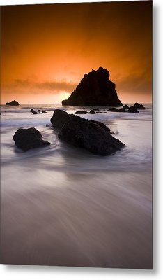 Adraga Beach Metal Print by Andre Goncalves