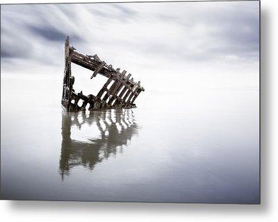 Adrift At Sea Metal Print by Eduard Moldoveanu