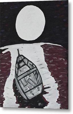 Adrift Metal Print by Jonathon Hansen