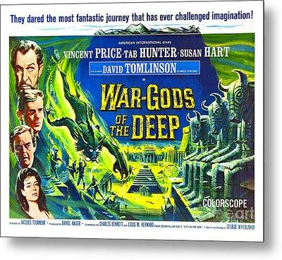 Adventure Movie Poster 1965 Metal Print by Padre Art