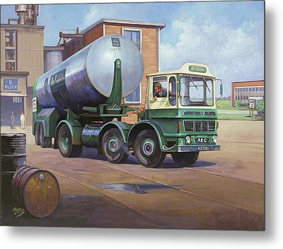 Aec Air Products Metal Print by Mike  Jeffries