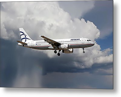 Aegian Airlines Metal Print