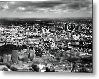 Aerial View Of London 6 Metal Print by Mark Rogan