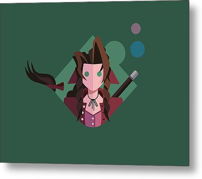 Metal Print featuring the digital art Aeris by Michael Myers