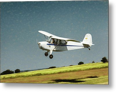 Metal Print featuring the photograph Aeronca 7a C by James Barber