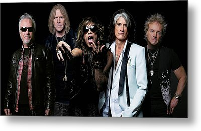 Metal Print featuring the photograph Aerosmith by Sean