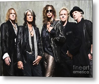 Aerosmith Metal Print