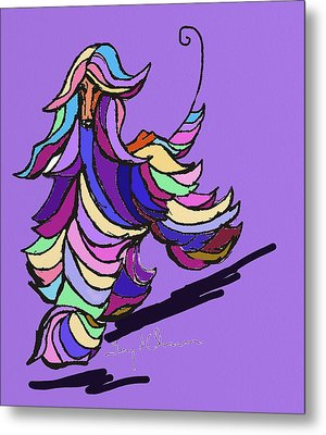 Afghan Colors Metal Print by Terry Chacon