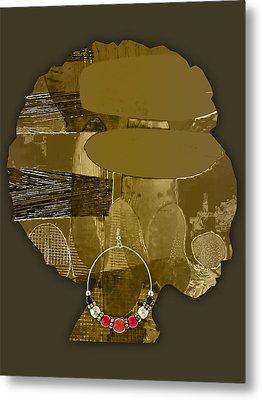 African America Metal Print by Marvin Blaine