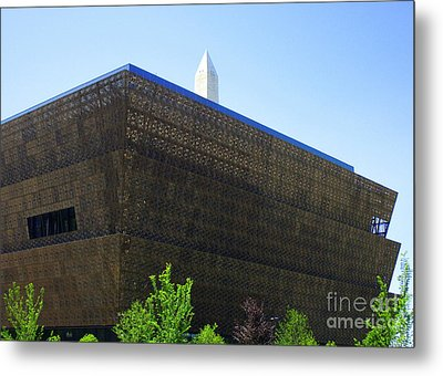 African American History And Culture 1 Metal Print by Randall Weidner
